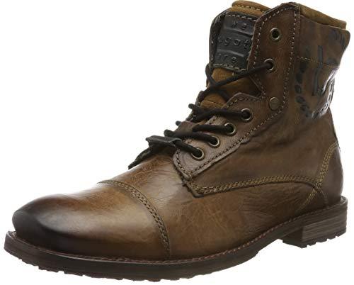 bugatti Herren 321803313200 Klassische Stiefel, Braun, 43 EU