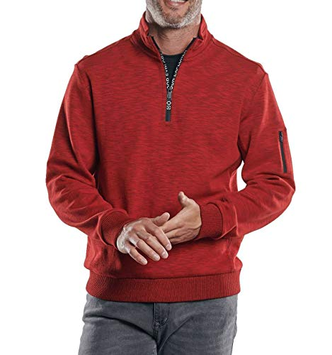 engbers Herren Sportives Sweatshirt, 30262, Rot in Größe XL