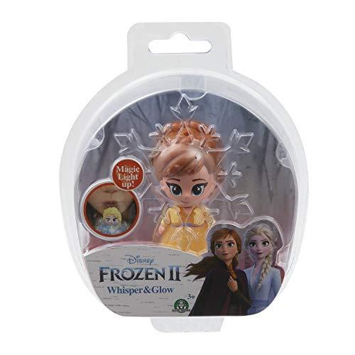 Giochi Preziosi Disney Frozen 2 Whisper and Glow Single Blister Mini Doll Anna Opening Dress
