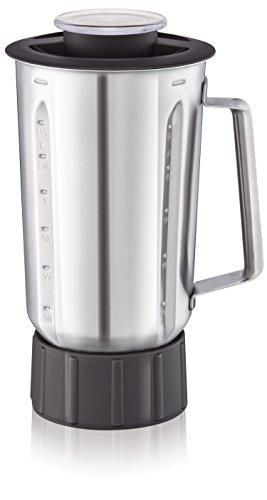 Moulinex xf636db1 blender roestvrij staal – accessoires voor keukenmachine Masterchef Gourmet – capaciteit 1,5 liter – stootvast thermisch