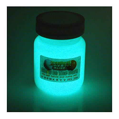 zuperpaint 30 ml brilla en la oscuridad pintura Aqua