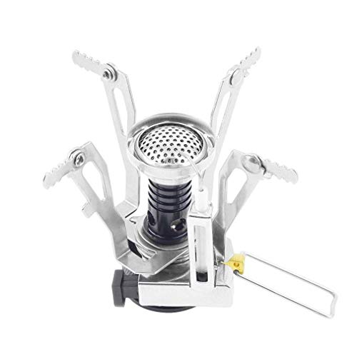 Amazing Deal DOUDO Folding Mini Camping Survival Cooking Furnace Stove Gas Burner Outdoor