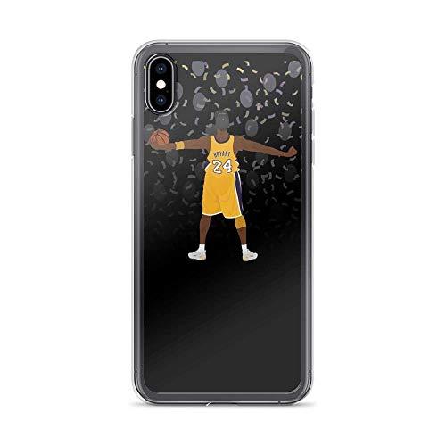 Rip Kobe 1987 2020 - Carcasa para iPhone 7 y 8, diseño de jugador de baloncesto