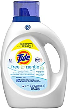 2-Pack Tide Free & Gentle Liquid Laundry Detergent 64 loads
