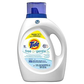 Tide Free & Gentle Liquid Laundry Detergent 64 loads