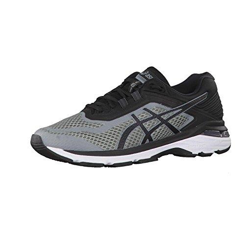 Asics Gt-2000 6, Zapatillas de Running Hombre, Gris (Stone Grey/Black/White 1190), 43.5 EU