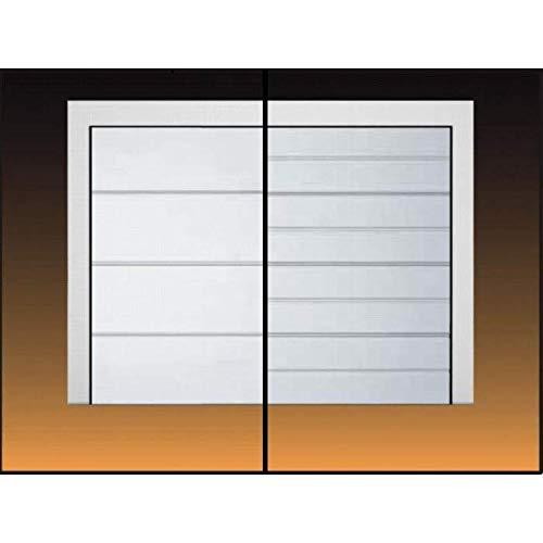 Hörmann Sektionaltor | Garagentor mit Antrieb und Handsender | Standardgröße 2500 x 2125 mm