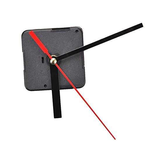 Piezas de reparación para reloj de Toogoo, mecanismo de agujas de cuarzo, negro, B