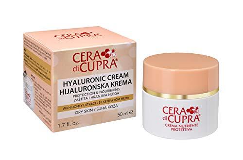 Cera di Cupra Crema Nutriente Protettiva con Acido Ialuronico, 50ml
