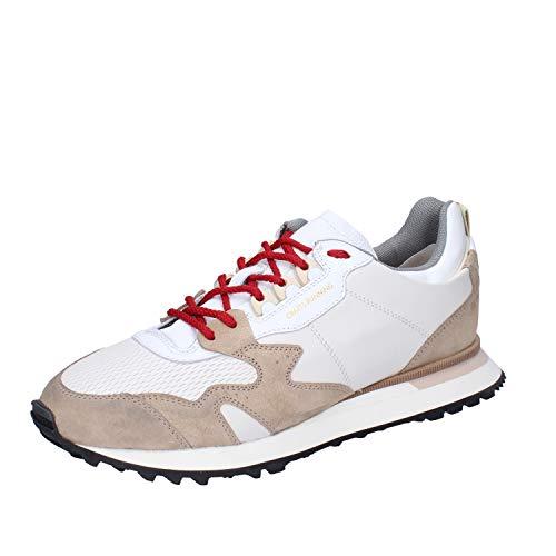 MOMA Sneakers Herren Leder weiß 41 EU