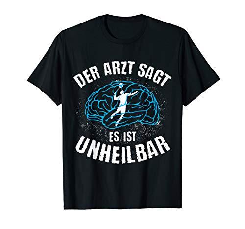 Badminton | Arzt sagt Unheilbar | lustiges Federball Spieler T-Shirt