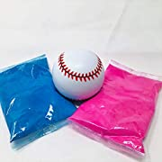 1 Gender Reveal Baseball Pink & Blue Kit - from the original gender reveal ball company