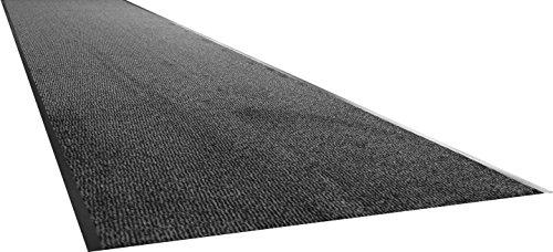 Carpe mathique® Fußmatte innen hauseingang Nassau Anthrazit, Beige, Blau, Braun, Rot - 90 x 200 cm - Anthrazit