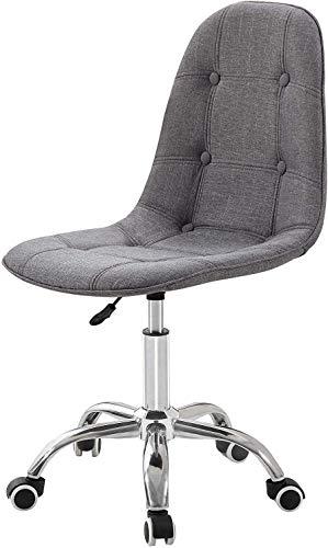 TGFVGHB Silla de oficina, silla de escritorio, silla de computadora para el hogar, silla giratoria de oficina acolchada con ruedas giratorias y altura ajustable