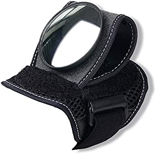 JVSISM Good Hand Cycling Wrist Mirror Rear View Rearview Safety Bike Arm Back Mirror WEST Biking Bicycle Rear Reflector Wrist Mirror