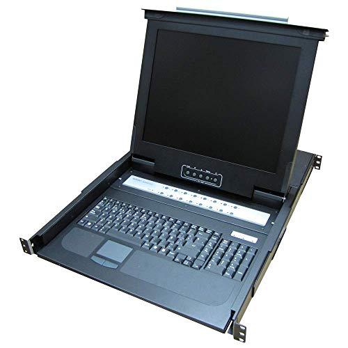 Consola KVM rack 19