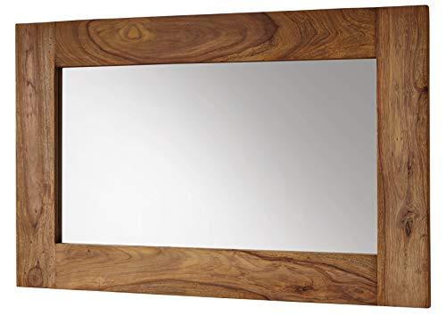 MASSIVMOEBEL24.DE Palissandro Legno mobili Massiccio OLEATO Specchio Sheesham mobili in Legno massello in Legno massello Marrone Naturale Marrone #841
