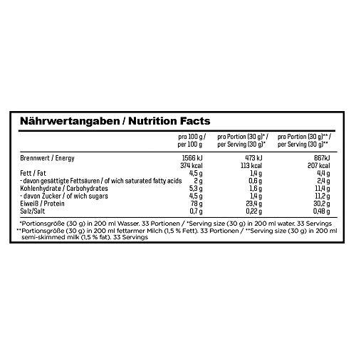ESN Designer Whey Protein, Pro Series, Vanilla, 1er Pack (1 x 1000g Beutel) - 2