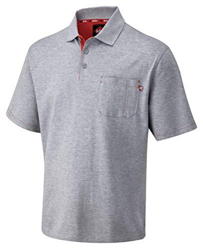 Lee Cooper LCTS011 Pique Polo Shirt, L, grijs, L