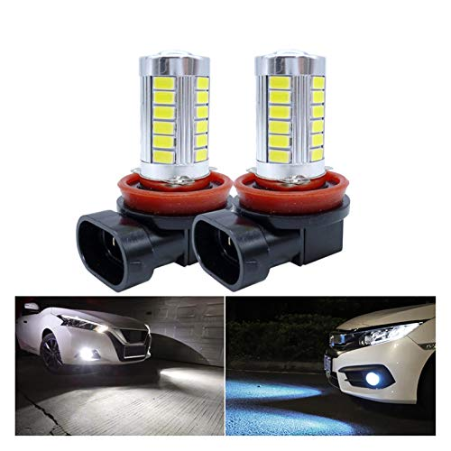 MMGANG 2X LED Light Lights H11 H7 H8 9006 HB4 9005 HB3 LED Lámpara de Niebla de automóvil LED DRL Bombillas de Luces de Funcionamiento diurno Ajuste para Toyo/TA COROLA CHR Camry 2018