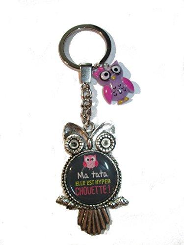 Porte clé ma Chouette Tata