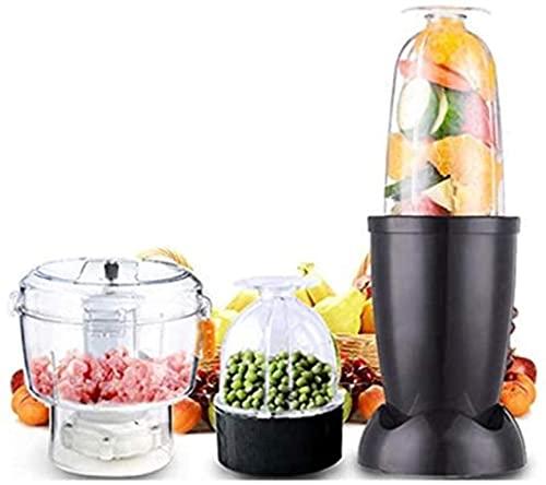 220v exprimidor exprimidor eléctrico Mini Baby Food mezclador de la fruta jugo del fabricante Grinder Mincer-nos Chopper picadora de carne Mezclador Sin Batido Batido Shredder-negro, h angelHJQ