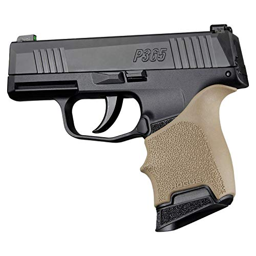Hogue 18703 P365: HandALL Beavertail Grip Sleeve - FDE, Flat Dark Earth, Fits: Sig Sauer P365