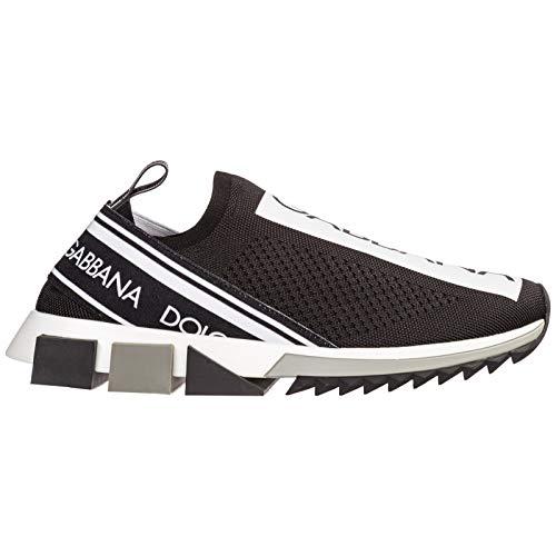 Dolce&Gabbana Hombre Sorrento Zapatillas Nero 41 EU