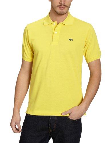 Lacoste L1212, T-Shirt Polo, Uomo, Giallo (Citron), FR 5