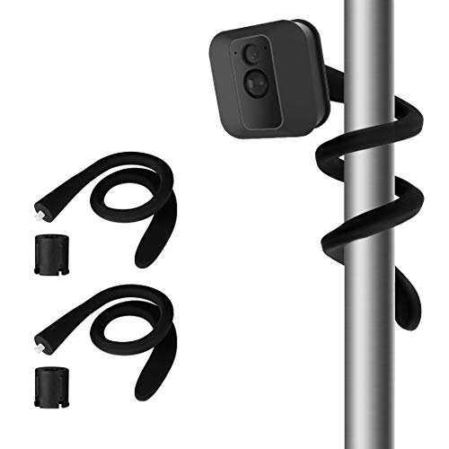 Flexible Twist Mount for Blink XT2 Outdoor Camera Blink Mini Camera, Best Viewing Angle for Your Blink Home Security Camera System-Indoor and Outdoor(2Pack, Black)