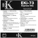 Easy Karaoke EK EKi-73 EKi73 Express Hits Karaoke Disc Charts 2012 by Troublemaker - Olly Murs feat Flo Rida