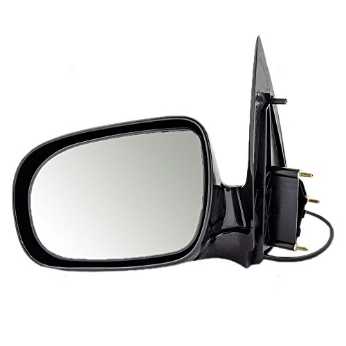 Aftermarket Replacement Drivers Power Side View Mirror Compatible with Venture Relay Silhouette Montana/SV6 Trans Sport Uplander Van