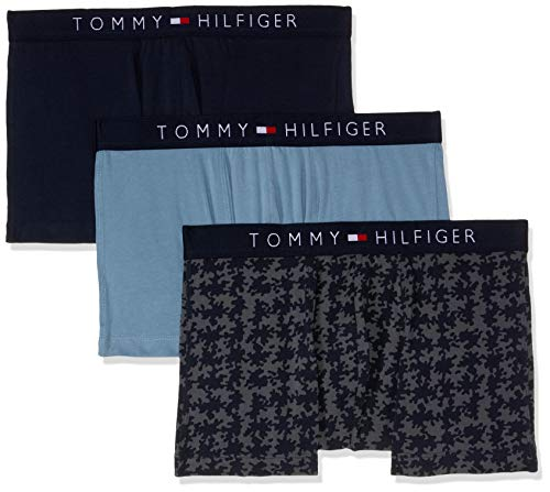 Tommy Hilfiger Icon Cotton 3 Pack - Navy Blazer/Blue Heaven/Iron Gate Medium