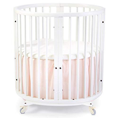 Stokke Sleepi Mini Crib Bed Skirt, Blush