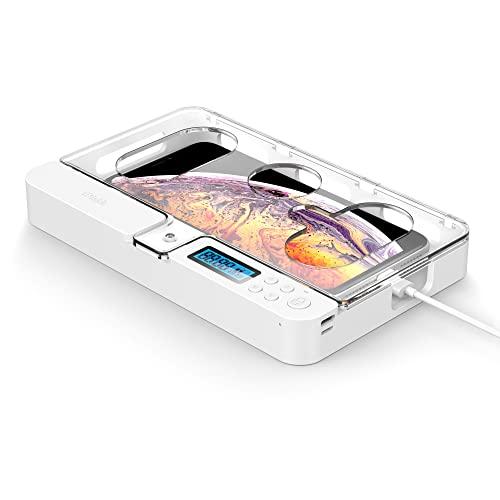 iDiskk Handy Timer Box Händy Gefängnis, Universal Handy Safe Schlossbox für alle iPhones & die meisten Android Handys Geschenk für Kinder Erwachsene, Händy Wegsperren