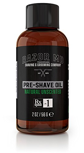 Natural Unscented Pre-Shave Oil