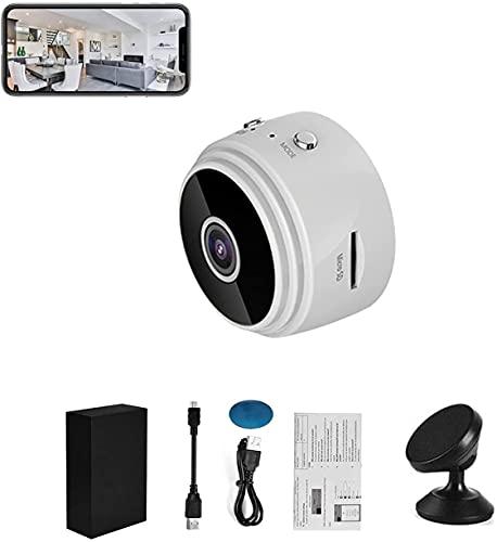 Dispositivo de monitoreo de TrailerHitch - Aplicación móvil Vista remota, Mini Wifi Cámaras ocultas, cámaras de la casa con alimento de audio en vivo, A9 Mini Wifi HD 1080p Cámara inalámbrica IP