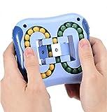 TTSM,Magic Cube Fidget Toys,Rotating Magic Bean,Toys for KidsAdult,Spinning Magic Bean Game,Unisex Magic Bean IQ Game Toys can Improve Thinking Ability(Blue)