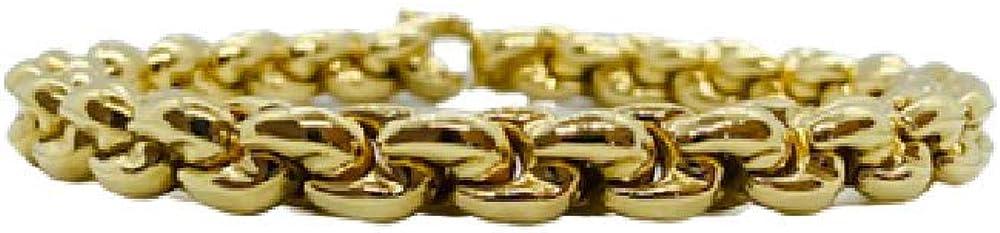 Chimento,bracciale per donna,in oro giallo 18kt(25,8 gr)della collezione