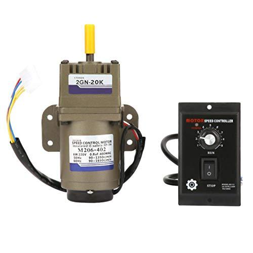 Regulador de velocidad del motor AC 220V Regulador de velocidad ajustable sin escalonamientos con motorreductores eléctricos(20k)