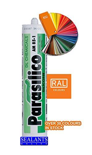 parasilico AM85PERIMLGRY DL AM85 perímetro LMN de Silicona, Ral 7035 Gris Claro, 310 ml