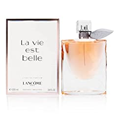Launched by the design house of Lancôme in the year 2012 This fruity fragrance has a blend of black currant, praline, tonka bean, vanilla, and patchouli notes It is recommended for casual wear Product Packaging May Vary