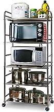 Home Living Museum/Stainless Steel Kitchen Shelf Racks Warehouse Household Racks Floor Multi Layer Storage Rack Free Punch...