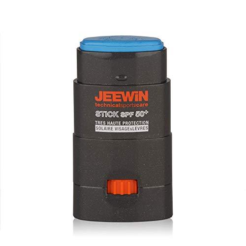 Protector solar facial palillo JEEWIN y Labios Protector SPF 50+ 12 g AZUL