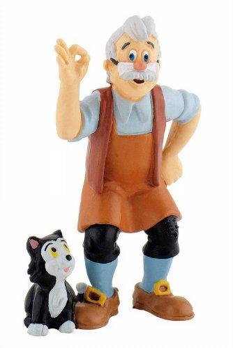 Bullyland 12398 - Spielfigur, Walt Disney Pinocchio, Gepetto, ca. 7,5 cm