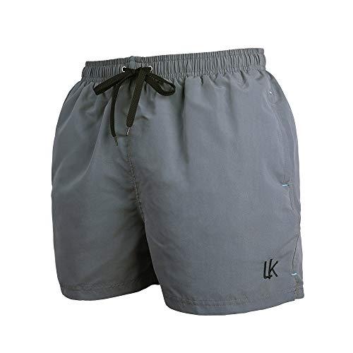 LK B.Hose Bañador Hombre Pantalones Playa Forro Cordón