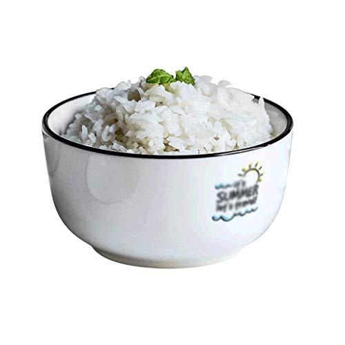 WOHAO Fête des Enfants de la Vaisselle Beau Bowl Petit déjeuner Bowl Bowl Soup Bowl Cereal Bowl Commercial céramique Bowl ménages Ramen Bowl (Taille: 11.5 * 6cm) (Size : 11.5 * 6cm)