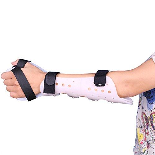 WANGXN Articulación del Codo Soporte Fijo Abrazadera Esguince de muñeca Equipo de protección Ajustable Soporte de ortesis para Miembros Superiores,Left