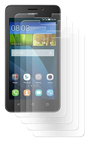 ENERGMiX Bildschirmfolie Schutz Folie kompatibel mit Huawei Y635 Folien (4 Stück) - Ultra Clear