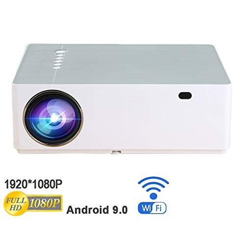 Power-Banks projector, draagbaar, ondersteunt 1080P, 70 inch, 6500 lumen, compatibel met tv-stick, videogames, HDMI, USB, TF, VGA, AUX, AV